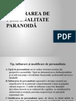 TULBURAREA DE PERSONALITATE PARANOIDĂ.pptx