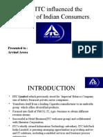 ITC-PPT on Consumer Behavior