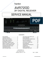 harman kardon avr 254 service manual hdmi video rh scribd com Harman Kardon AVR 247 Harman Kardon AVR 247