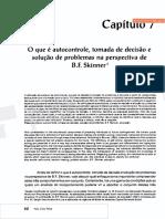 Nico (2001), Autocontroe, tomada de decisão e solução de problemas