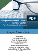 Geoprocessamento raster e vector