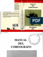 Duran Lin. Manual Del Coreógrafo