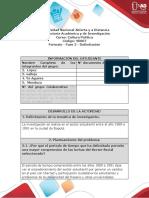 Formato - Fase 2 - Delimitación SECTOR ESTUDIANTIL