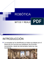 ROBÓTICA MITO Y REALIDAD