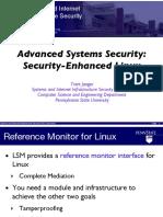 Advanced Systems Security- Security-Enhanced Linux (cse544-selinux).pdf