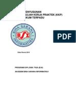 Cover KataPengantar KKP Dan DaftarIsi