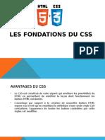 Les fondations du CSS