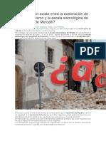 Relación entre acleracion sismica y escala simológica