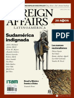 FOREIGN AFFAIRS LATINOAMÉRICA ABRIL-JUNIO 2020
