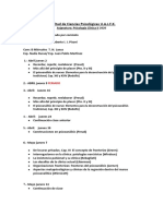Cronograma Clínica II 2020