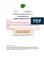 Well Engineering TRSSSV Operational Procedure