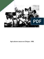 Agricultores Vascos de Hoy en Dia -Chirgua 1950