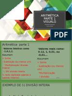 Aula 03 algoritmo aritmetica