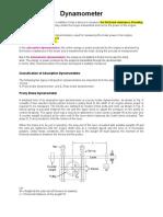 Dynamometer - 1