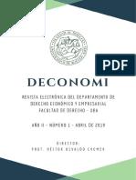 Rev-Deconomi Tercera Edición