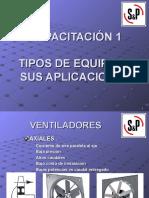 TECNICA VENTILACION TIPOS DE EQUIPOS Y APLICACIONES