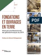 Fondations et ouvrages en terre Manuel professionnel de géotechnique du BTP GCAlgerie.com