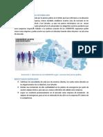 DESCRIPCION DEL AREA DE MERCADO Y RESULTADOS ESPERADOS