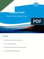 Company Profile & Experience List HATCH