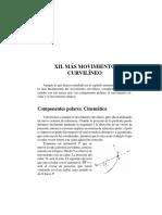 Apuntes de movimiento curvilineo con componentes polares