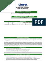 Programa Terapia de Aprendizaje (pilotaje)
