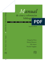 Normas APA Pérez Margarita Manual de Citas y Referencias Bibliográficas