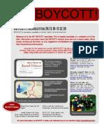 BOYCOTT! Newsletter 28.11.10-11.12.10