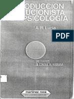Luria - Introducción evolucionista a la psicología.pdf
