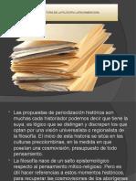 Fases de la historia de la filosofia latinoamericana