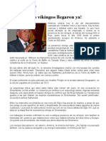 CESSAR LEVANO LOS VIKINGOS LLEGARON YA
