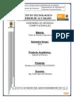 Practica de Laboratorio Taller de Sistemas Operativos
