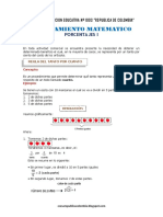 Situaciones Aritméticas - Problemas de Porcentajes PP43 Ccesa007