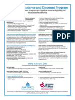 Utility and Emergency Services Info Flyer 2019