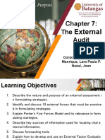 The external audit