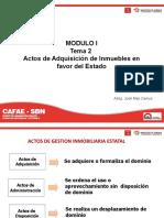 Modulo I _ Tema 2 - Adquisición de los Inmuebles