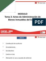 Modulo I _ Tema 3 - Administración de los Inmuebles