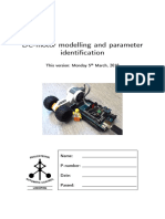 DC-motor modelling and parameter identification