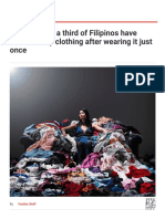 YouGov _ Fast fashion_ a third of Filipinos have thrown away clothing after wearing it just once