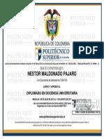 Docencia Universitaria Dr Maldonado