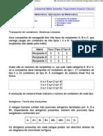 Aplicações da Matemática