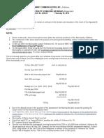 23. Smart vs Municipality of Malvar_Case Digest