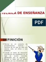 DIAPOSITIVA TECNICA DE ENSEÑANZA.ppt