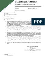 surat kerjasama idi covid 19