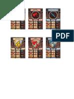 Cartas de Combate -  - DungeonQuest