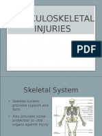 9997 Musculoskeletal Injury