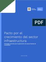 Pacto por el crecimiento del sector Infraestructura