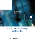 Nokia'S BUSINESS POLICY AND STRATEGY