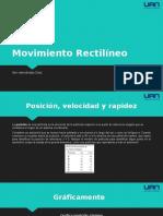 Movimiento Rectilíneo2