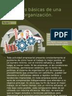 Áreas básicas de una organización