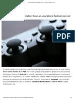 Cómo controlar la Playstation 3 con un móvil Android con root